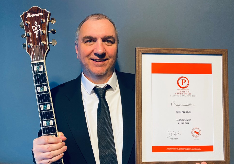BILLY PEZZACK WINS MUSIC MENTOR OF THE YEAR